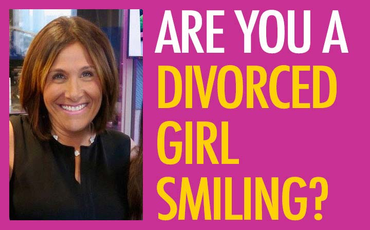 Are You a Divorced Girl Smiling?