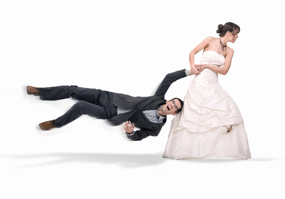 rushing into a second marriage
