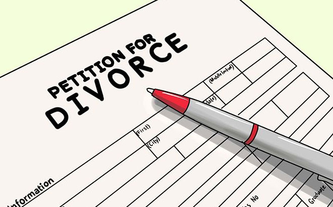 Image result for divorce papers